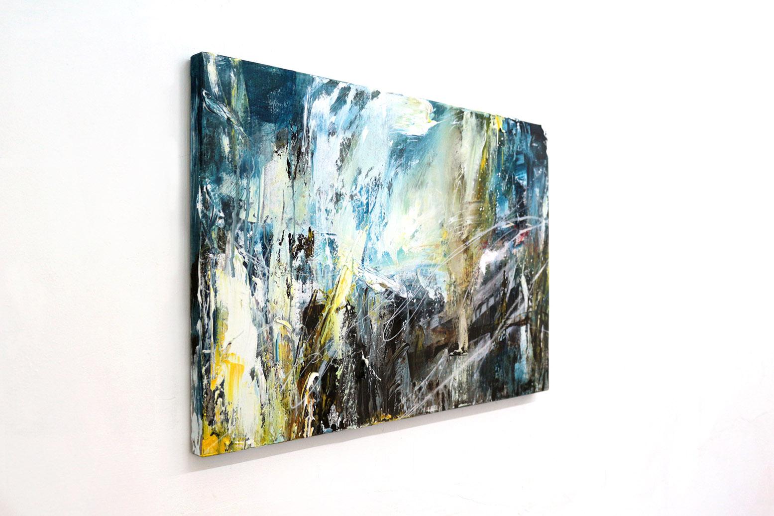 「air 02」 Canvas, Acrylic, 40× 60cm, 2019